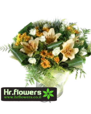 זר פרחים אלגנטי