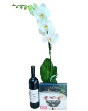 דיל סחלב + שוקולד + יין