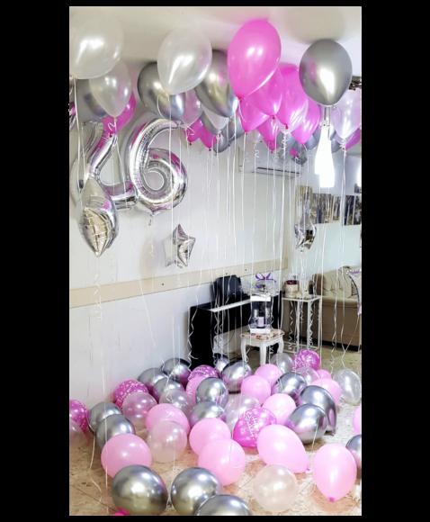 משלוח בלונים ביום הולדת
