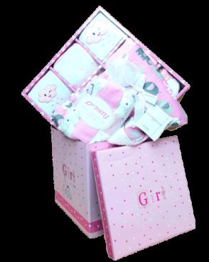 מארז ליולדת ענק להולדת הבת 15 חלקים