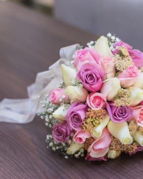 ורדים צבעי פסטל