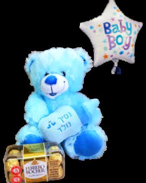 דיל הולדת הבן עם דובי
